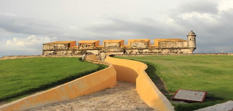 Los Fuertes en Campeche