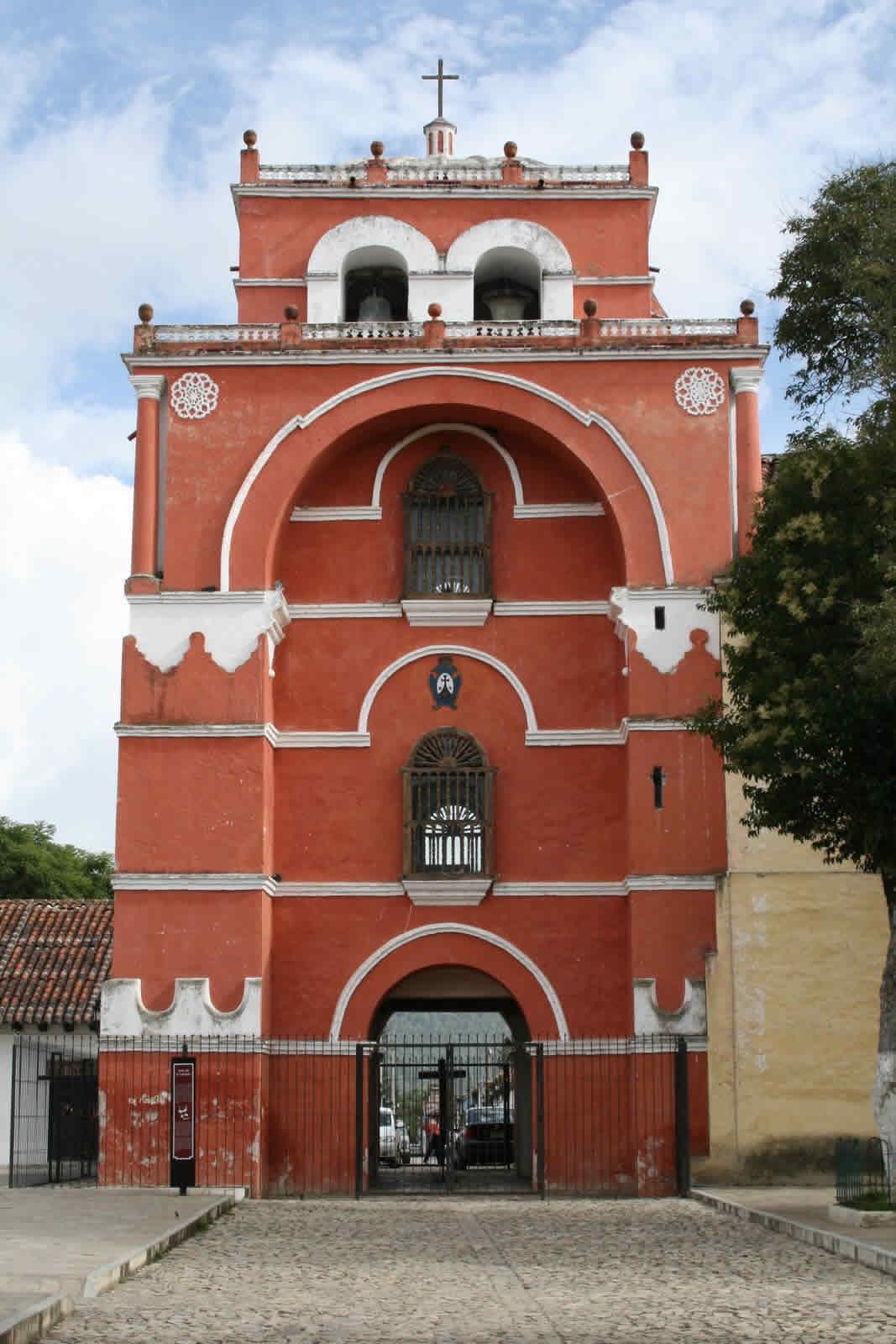 Arco-Torre de el Carmen, Chiapas