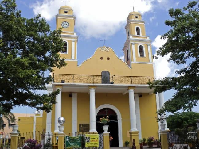 parroquia de nuestra señora del carmne, campeche