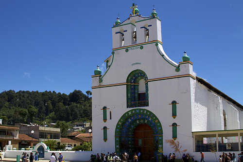Templo de San juan Bautista, Chiapas
