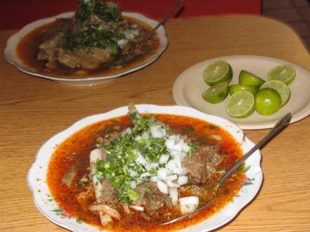 Cocina de Durango