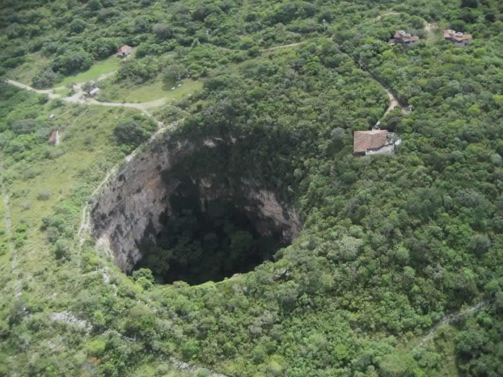 Fosa de Las Cotorras, Chiapas