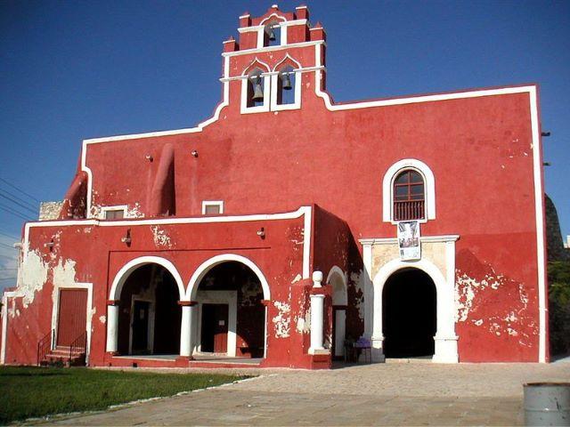 templo y convento de san francisco, campeche