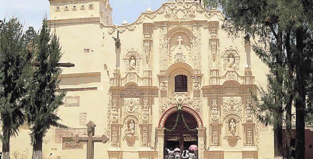 Templo de San Luis Obispo, Estado de México