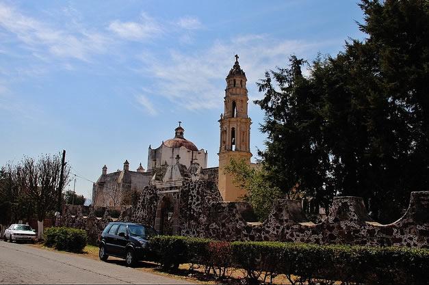Templo de San Nicolás, Estado de México