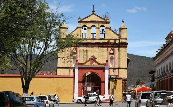 Templo de San Nicolás, Chiapas