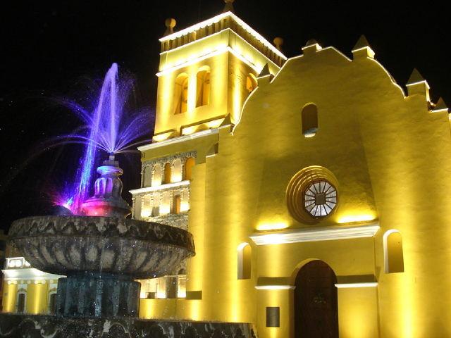 Templo de Santo Domingo, Chiapas