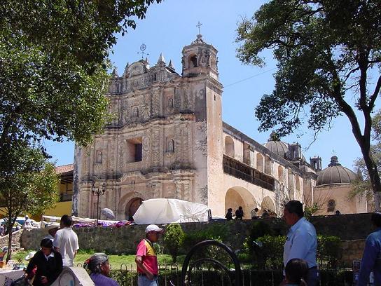 Templo y Ex Convento de Santo Domingo de Guzmán, Chiapas