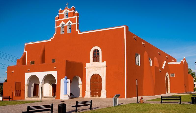 templo de san francisco, campeche