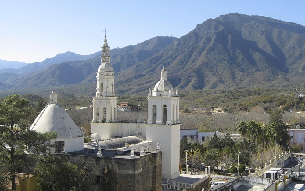 Ciudades y pueblos en nuevo le n turimexico for Ciudad santiago villas