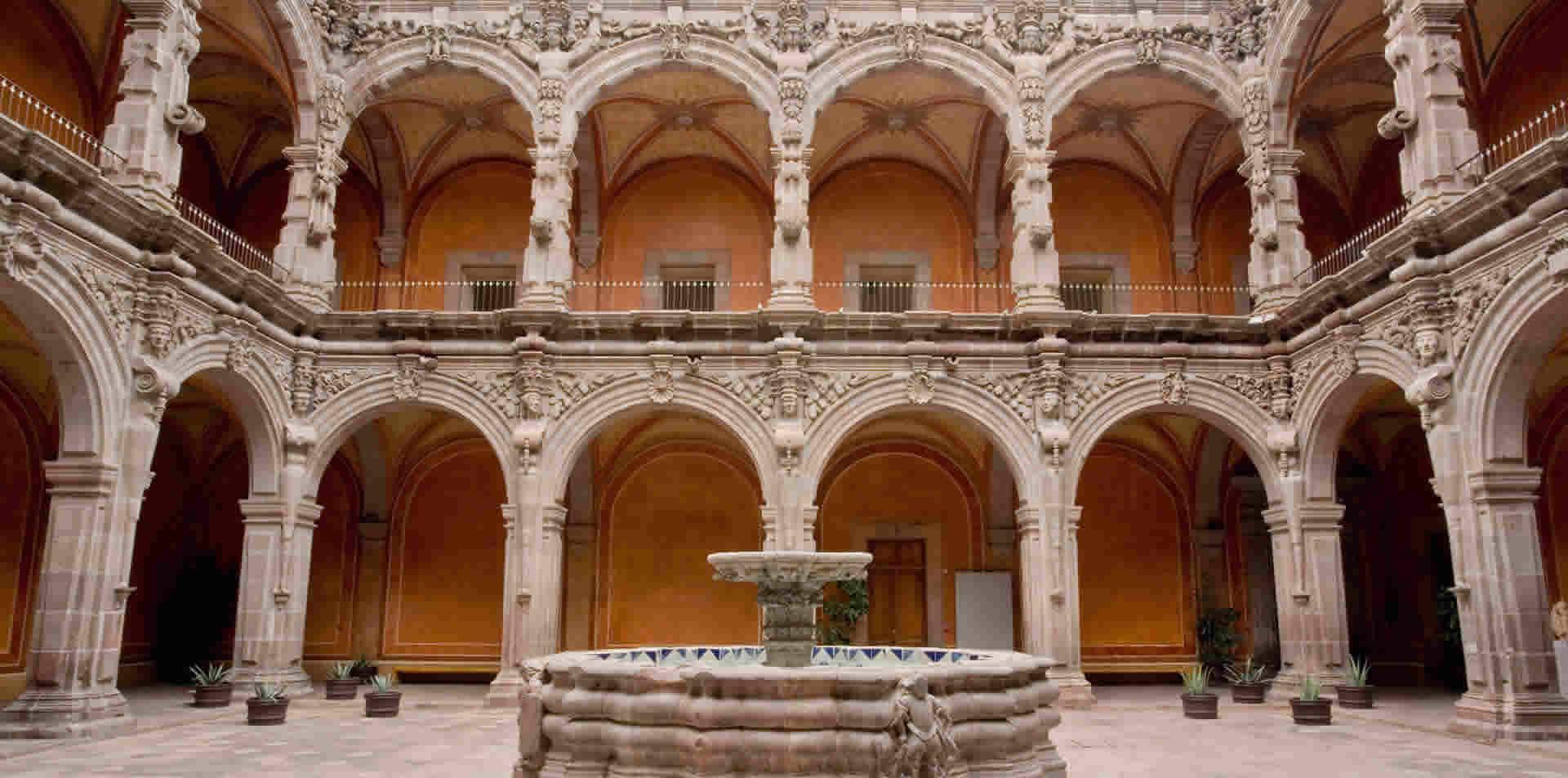 interior del Museo de Arte de Querétaro