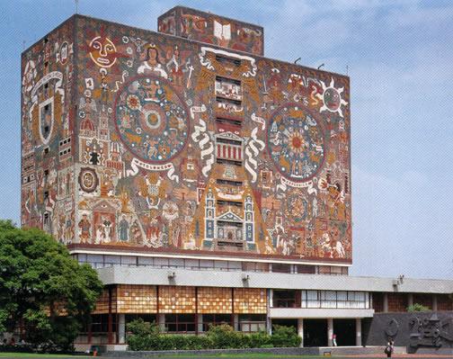 Biblioteca Central UNAM, Ciudad de México