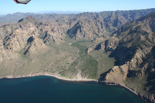 Cañón Las Barajitas, Sonora