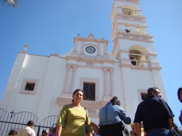 Templo de la Virgen de la Candelaria (San Juan Bautista), Sinaloa