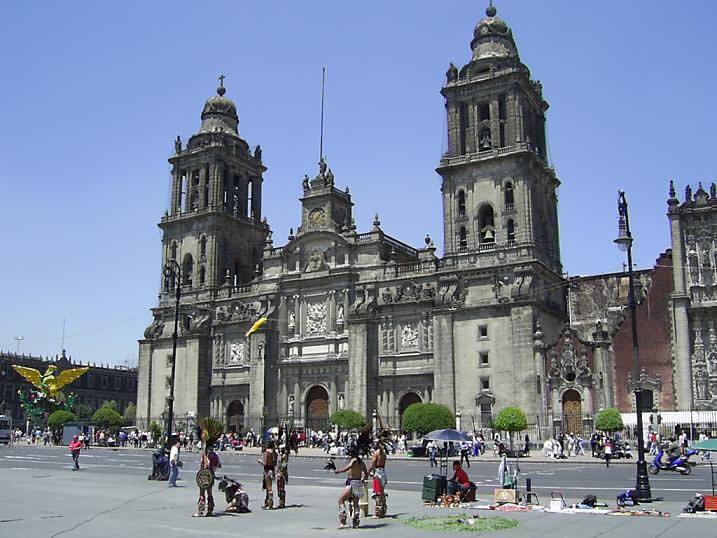 La Catedral Metropolitana, Ciudad de México