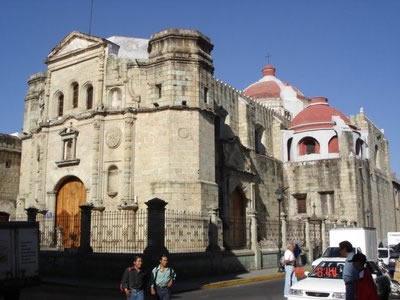 Templo de la Compañía de Jesús, Oaxaca