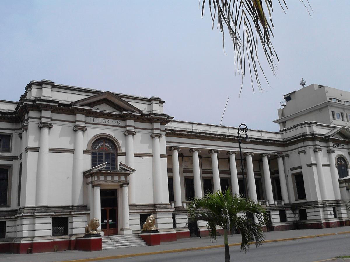 Edificios de Correos y Telégrafos, Veracruz