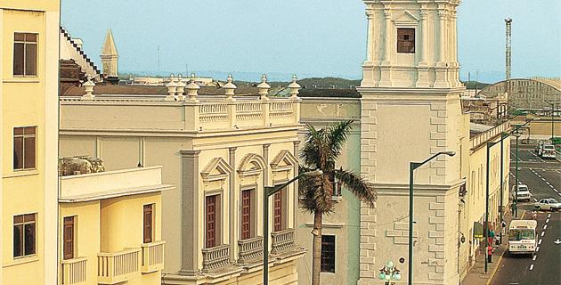 Ex Templo del Convento de San Francisco, Veracruz