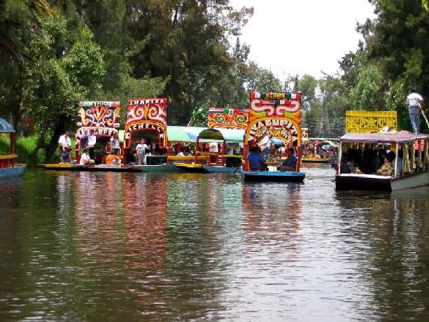 Historia de la delegaci n xochimilco ciudad de m xico for Jardin xochimilco