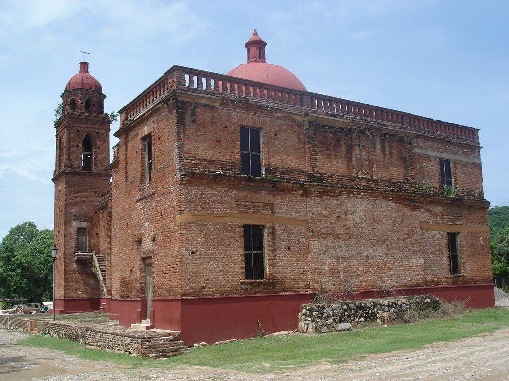 Templo de San Juan Bautista (Iglesia de la Cruz), Sinaloa