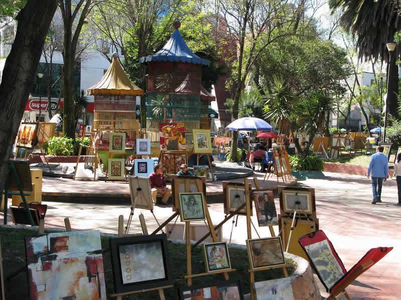 Jardín del Arte, Ciudad de México