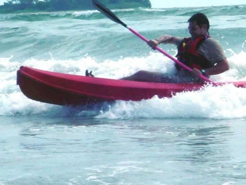 Kayak de Mar, Veracruz
