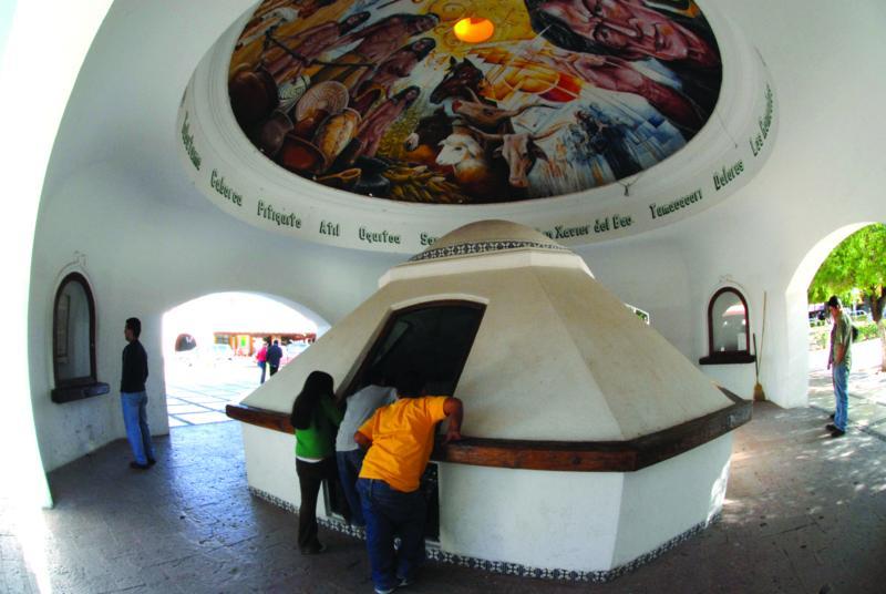 Cripta del Padre Kino, Sonora