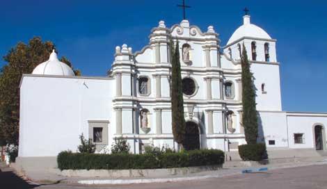Templo de San Miguel Arcángel, Sonora