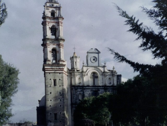 Templo de Santa Cruz, Tlaxcala