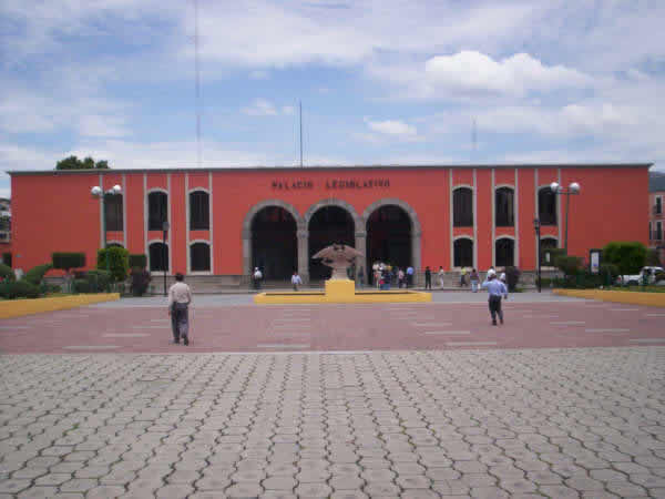 Palacio Legislativo (Antiguo Mesón Real), Tlaxcala
