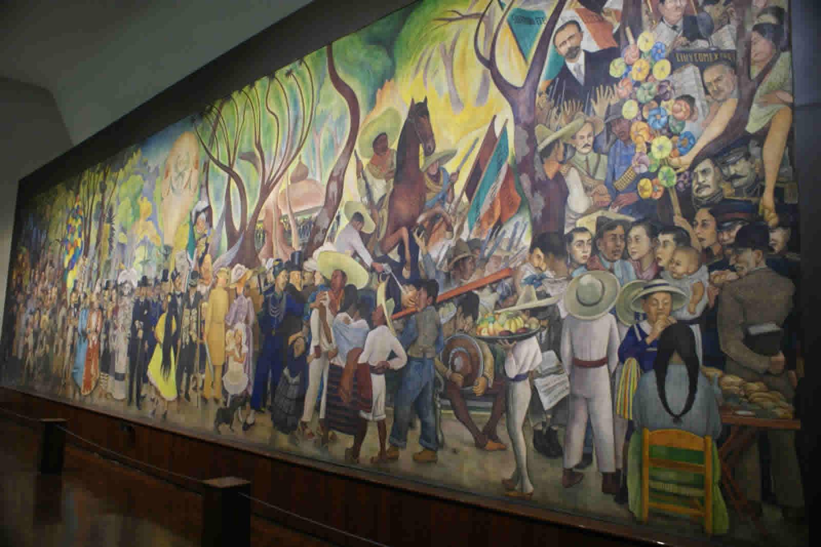 Museo mural diego rivera ciudad de m xico turimexico for Un mural de diego rivera