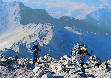Montañismo en Puebla