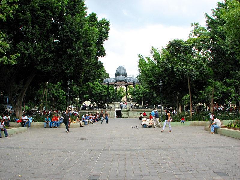 Plaza de la Constitución de Oaxaca