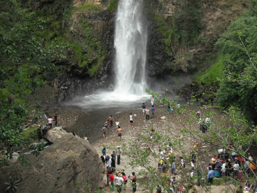 Cascada Salto de Santana, Estado de México