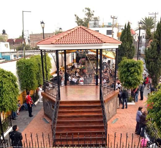 Clausura del Jubileo en el Barrio de Santa Cruz, Ciudad de México