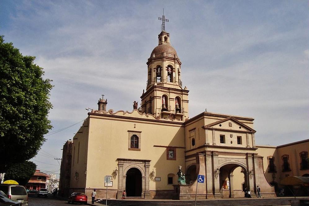 Templo de la Santa Cruz, Querétaro
