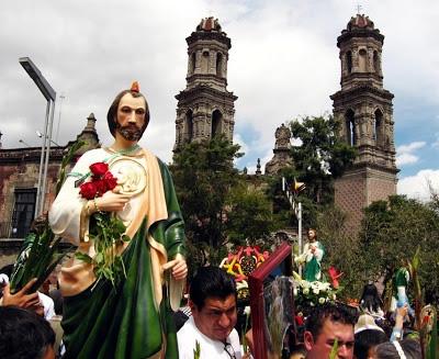 Templo de San Hipólito y San Casiano, Ciudad de México