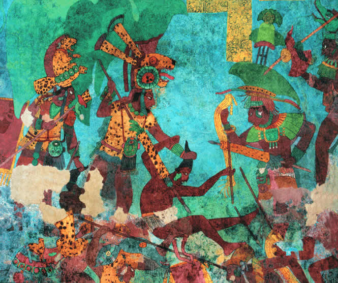 Las Guerras en Palenque
