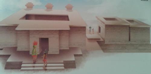 Casa de los Altares en Atzompa