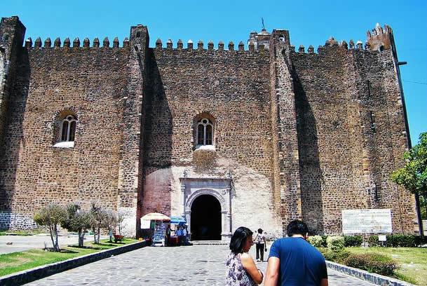 Ex Convento de San Juan Bautista en Yecapixtla