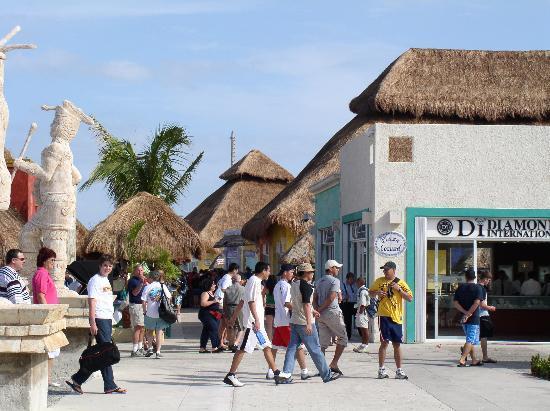 De Compras en Cozumel