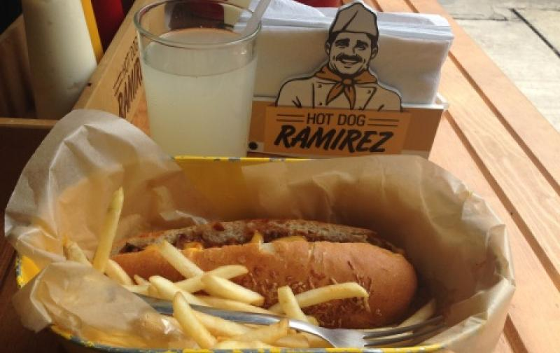 5 locales en el D.F. de Hamburguesas y Hot Dog
