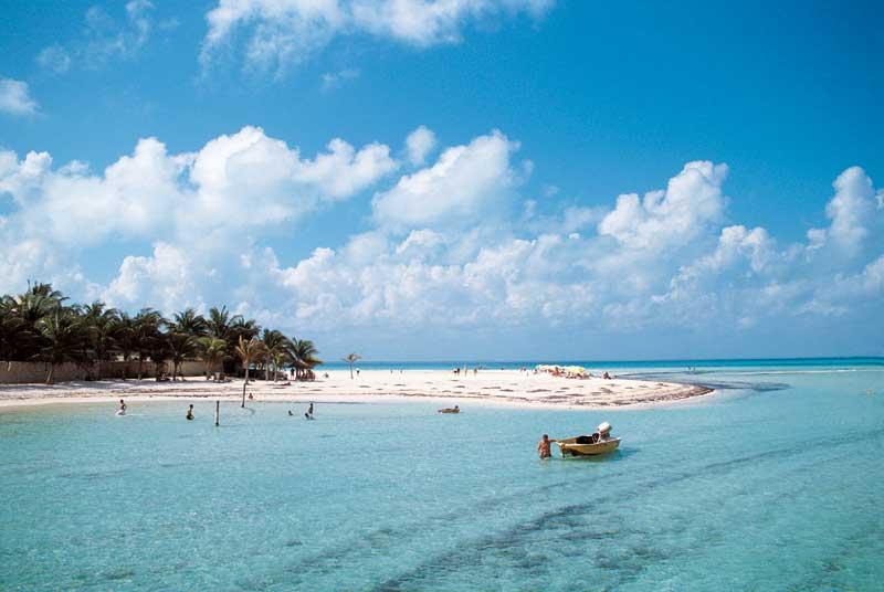 Costa Occidental de Isla Mujeres, Punta Cancún y Punta Nizuc