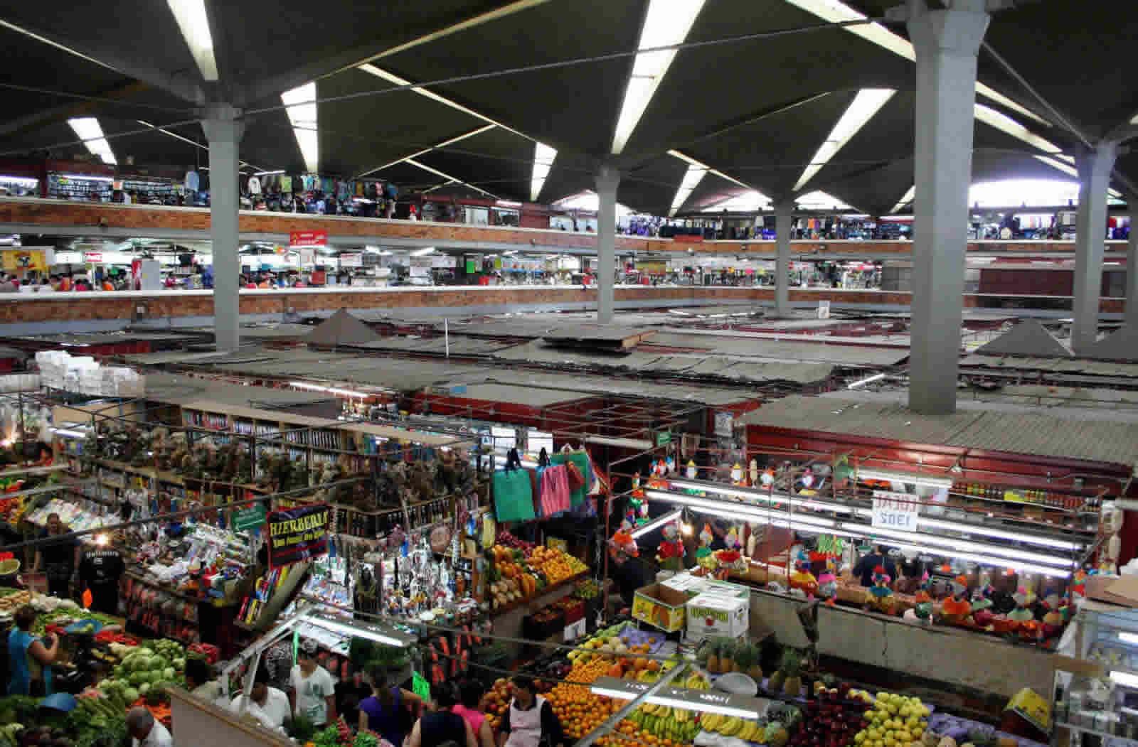 Mercado en el Distrito Federal
