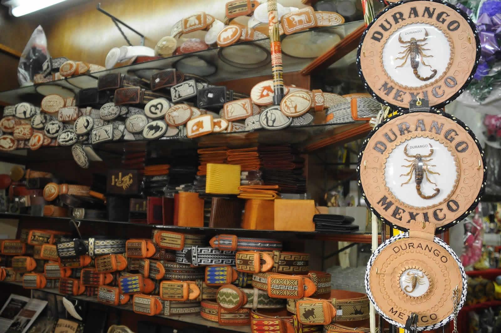 Mercado en Durango