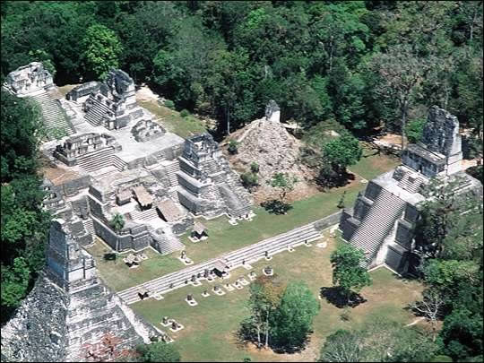 Paisaje Maya