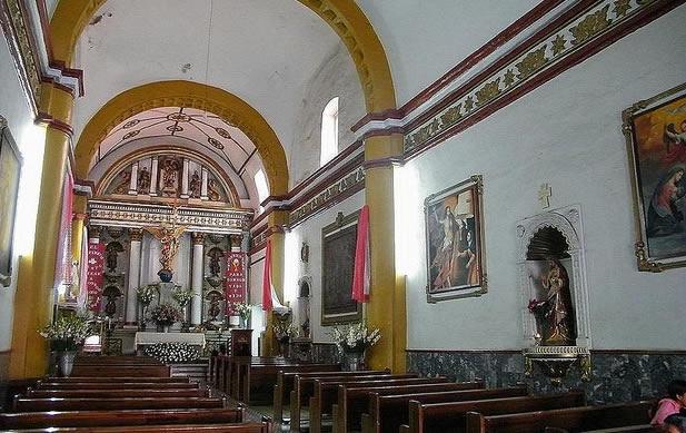 Convento de Los Siete Príncipes o Santa María de los Ángeles, Oaxaca