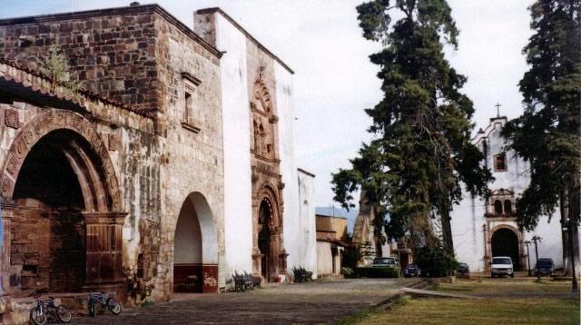 Convento de San Francisco, Tzintzuntzan