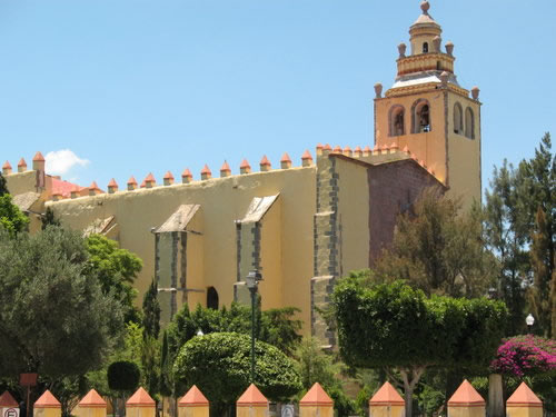 Convento de San Miguel Arcángel, Ixmiquilpan