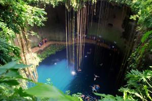 Cenote Ik Kil en Yucatán